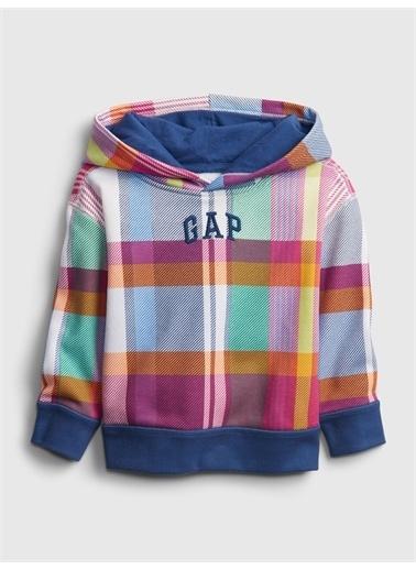 Gap Gap Logo Kapüşonlu Sweatshirt Renkli
